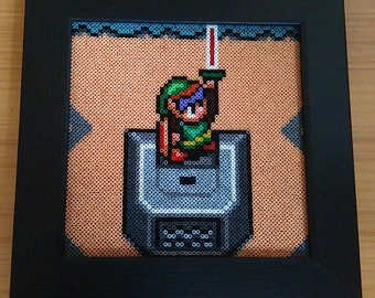 The Legend of Zelda: A Link to the Past Framed picture. Nintendo! Retro!!