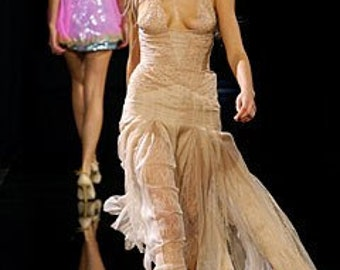 Gianni Versace Couture dress