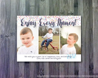 Enjoy Holiday Photo Card | HC43