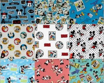 Custom Crib Bedding, Nursery and Home Decor / Design Your Own / Crib Bumper, Skirt, Sheet, Blanket, Pillows / Disney / Mickey & Minnie