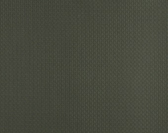Hunter Green Basket Weave Jacquard Woven Upholstery Fabric By The Yard | Pattern # D340