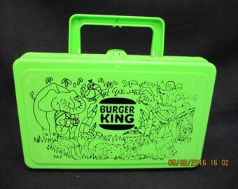 Burger King Lunch/Pencil Box