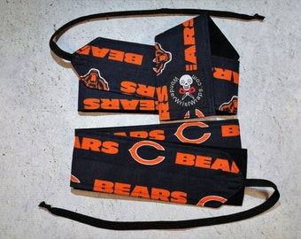 Chicago Bears, Wrist Wraps, WOD, Weightlifting, Athletic