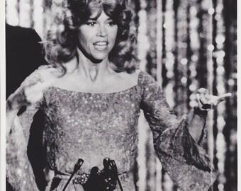 Vintage Wire photograph Jane Fonda, Oscars Awards, 4/10/79