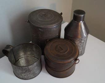 Antique Tin Collection