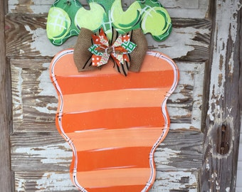 Easter Door Hanger - Personalized Door Hanger - Easter Decor - Easter Decorations - Bunny Door Hanger - Easter Sign - Spring Door Hanger