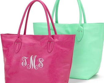 Monogrammed Tote, Monogrammed Purse, Personalized Bag