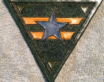 Browncoat firefly leather patch