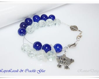Row Counter Lapislazuli Gemstone