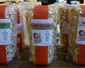Top Sellers Trio - Gourmet Popcorn - Made in Vermont - Maple Kettle Bliss, Herbaceous Blend + Seasonal Flavor Surprise