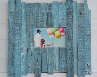 Beach frame- reclaimed wood- 5 x 7