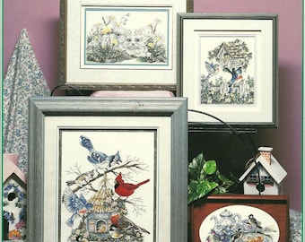 Stoney Creek:  Garden Visitors and Reflections Cross Stitch Booklets