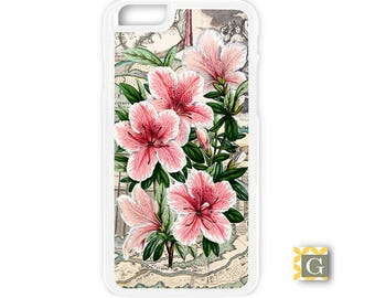 Galaxy S8 Case, S8 Plus Case, Galaxy S7 Case, Galaxy S7 Edge Case, Galaxy Note 5 Case, Galaxy S6 Case- Pink Azaleas