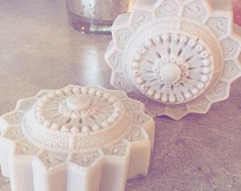 Lavender Mandala Handmade Organic Soaps (2) Healing body