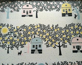 Marimekko cotton fabric -  Scandinavian design -Lightweight 100% cotton fabric - 59 inches (150 cm) wide
