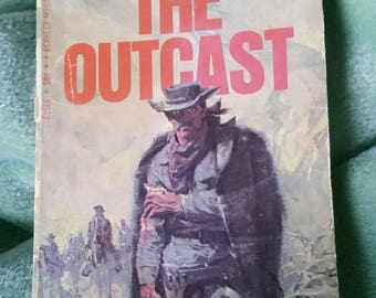 The Outcast by Gene Thompson 1968 vintage paperback book
