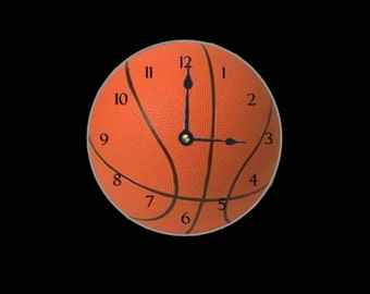 Basketball CD Clock