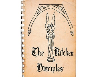 The Kitchen Disciples Vintage Cookbook, St. John's Episcopal Church, Montgomery Alabama