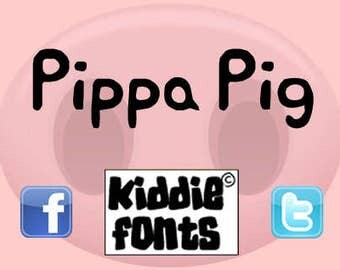 PIPPA PIG Commercial Font