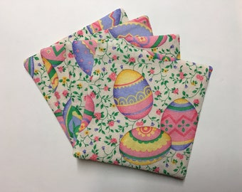 Set of 4 Easter coasters.