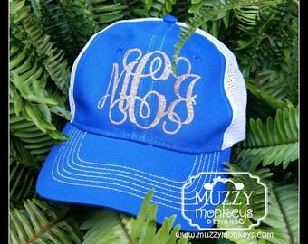 Monogrammed Urban Trucker Style Hat