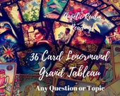 Lenormand Reading, Gypsy Fortune Telling, Online Psychic Reading, Psychic Reading, Email Psychic Reading, Oracle Card Reading