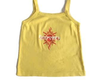 30% Flash Sale 90's Metal Band GODSMACK Crop Tank Top