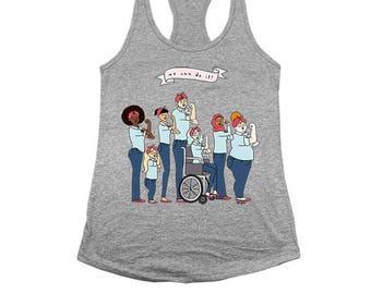Intersectional Rosie -- Women's Racerback