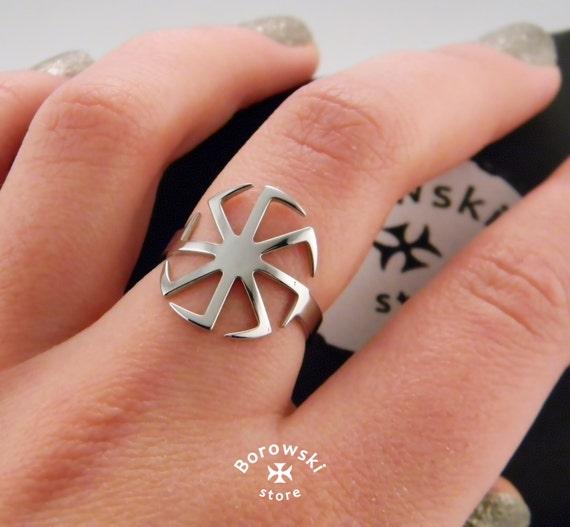 kolovrat ring kostenloser versand slawischen symbol der. Black Bedroom Furniture Sets. Home Design Ideas