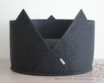 cat cave pet bed cat bed cat house made of felt minimalistic pet furniture
