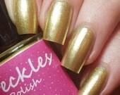 Band Of Gold 5ml (Metallics Collection) Metallic Cruetly Free Handmade Nail Polish