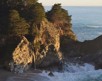 McWay Falls at Julia Pfeiffer Burns State Park in Big Sur, California - 8x10 or 16x20 Color Photo Wall Art Image