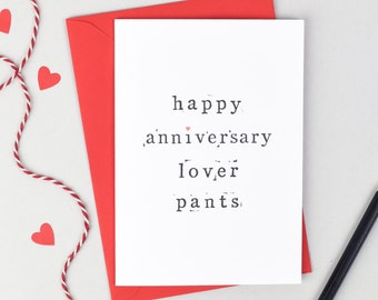 Funny Anniversary Card - Anniversary Card - Love Card  - Anniversary Card for Wife - Anniversary Card for Husband - Funny Card - Rude Card