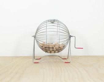 1960's Desktop Bingo Cage