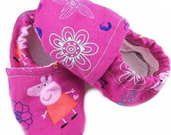 Peppa Pig Shoes, Slip Ons, Slippers, Crib Shoes