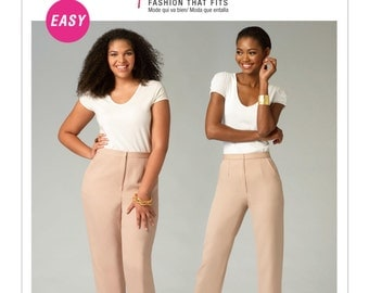 McCall's Sewing Pattern M6901 Misses'/Women's Tapered Pants