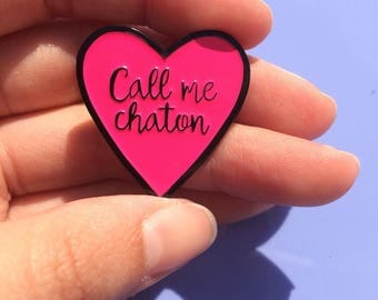 Pine's call me kitten, email, gift for girlfriend, gift for girlfriend, gift, party, birthday gift, love, pins pins