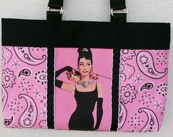 Rockabilly Audrey Hepburn Purse