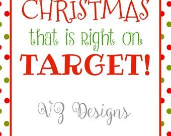 Target Christmas Gift Card Printable