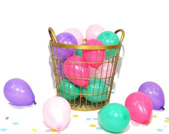 Ice Cream Party Mini Balloons assortment