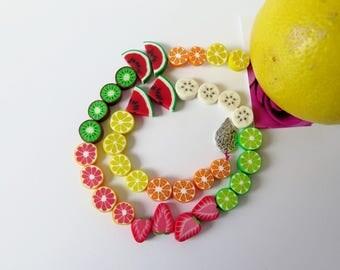 Fruitsalat beads