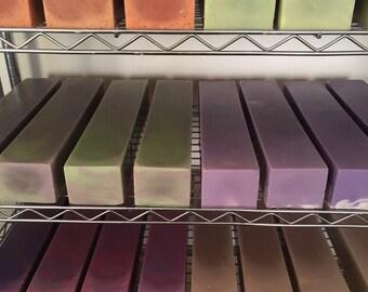 Soap Loaf 5 lb Bulk Soap Wholesale Soap Cold Process Soap Discount Custom Wholesale Shower Favors Gift Bag Handmade