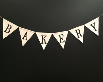 Bakery Banner,Bakery Sign,Kitchen Banner, Farmhouse Banner, Country Kitchen Banner
