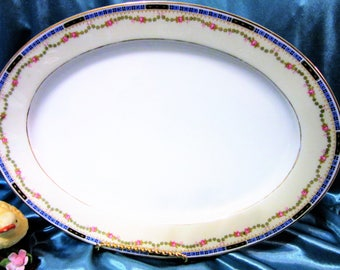 Platter Tray Porcelain Fine China Porcelain Replacement HC Heinrich Selb Bavaria Vintage blm