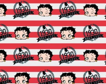 Ruby Red Betty Stripe, Betty Boop, Camelot Design Studio - King Features