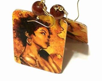 Lauryn Hill Hip Hop Earrings