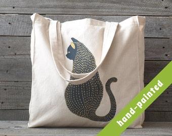 cat handbag / cat tote bag/ cat lover gift/ totes / canvas bag/ canvas tote bag/ cat eco bag / handbag/ cats/ eco bag/ cat / tote/ bag