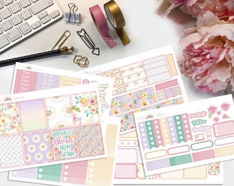 Blooms Planner Sticker Kit by EllaCouturebyJessica