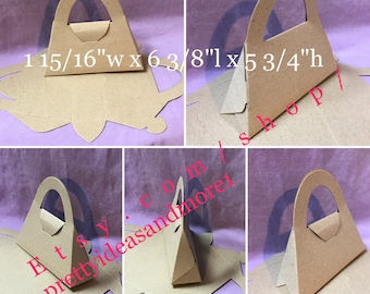 Recycled Chipboard Bag Party Favor