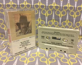 Still Crazy After All These Years by Paul Simon Cassette Tape rock folk